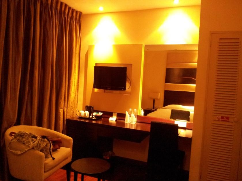 My room at Renuka City, Colombo