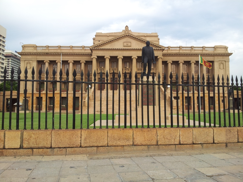 The Old Parliament of Lanka