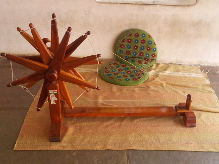 Charkha..the spinning wheel