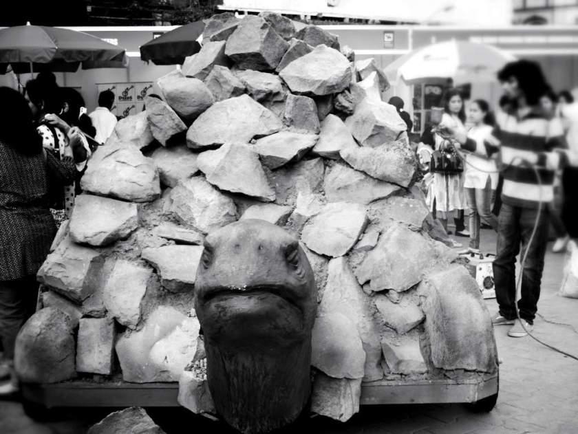 Burden of rocks